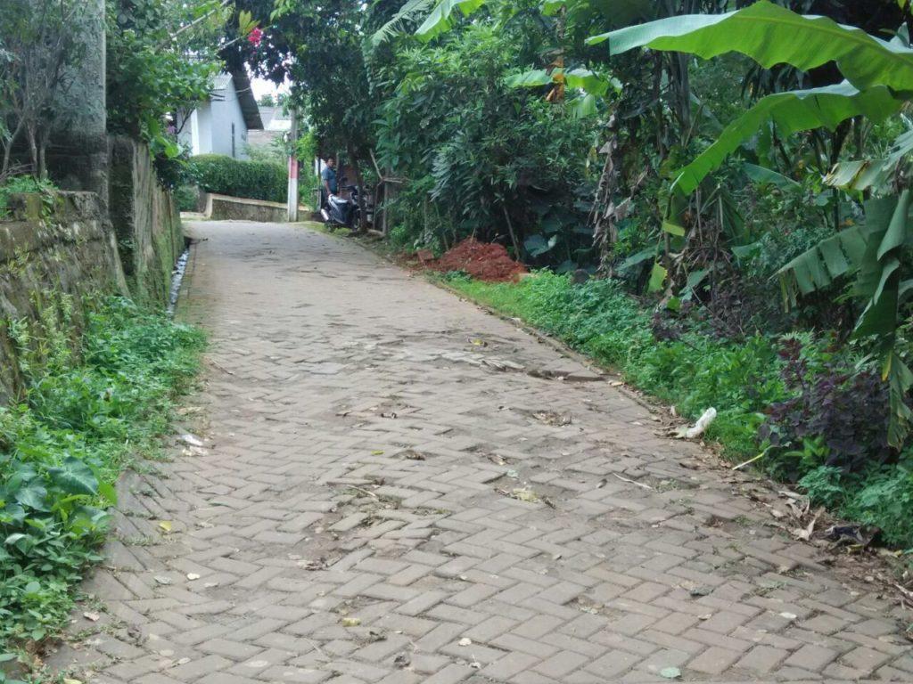 kerusakan jalan paving